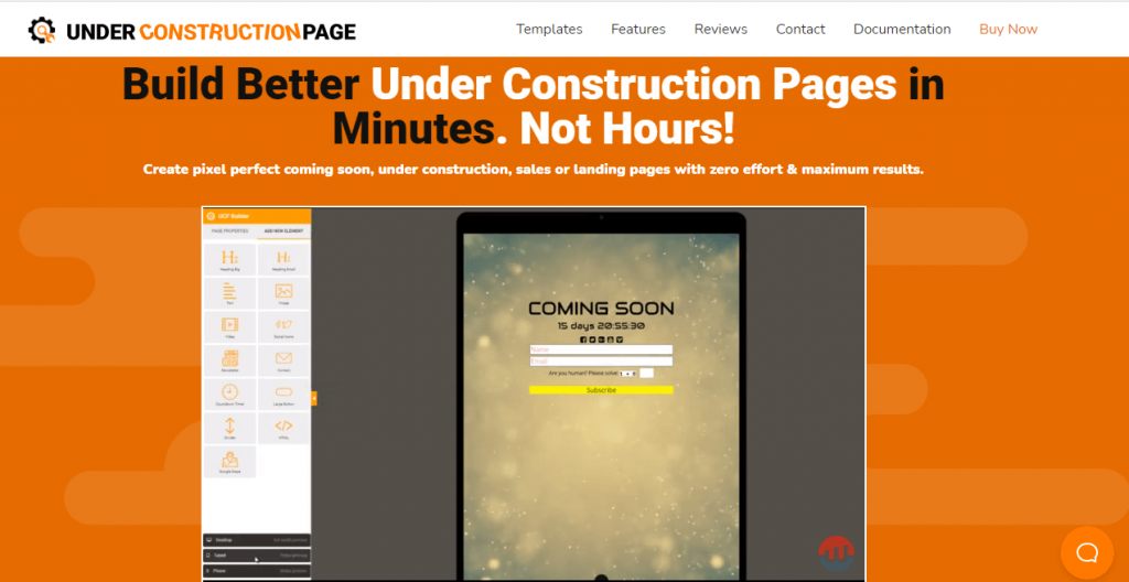 Plugin Under Construction Page