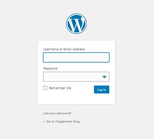 Login ke Dashboard WordPress