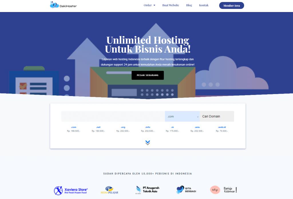 Website DakiHoster