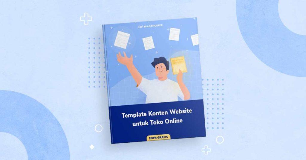 download ebook template konten website untuk toko online