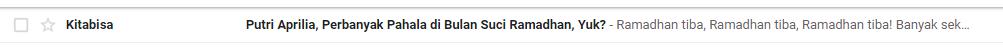 Buat Email yang Personal