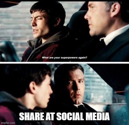 Share Konten di Media Social