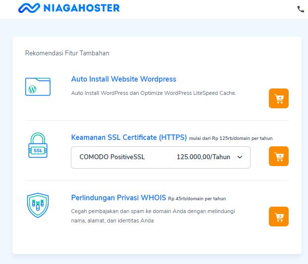 Proses instalasi WordPress pada shared hosting