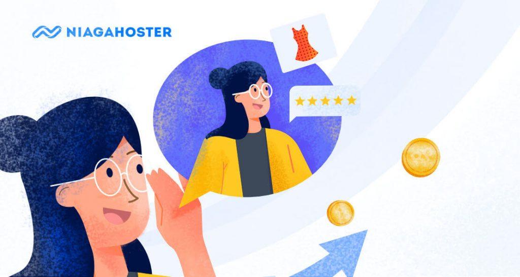ilustrasi feedback produk