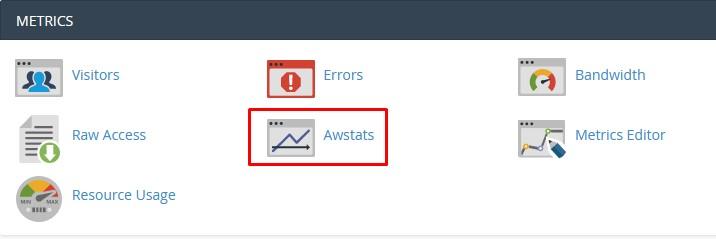 Cek Penggunaan Bandwidth di Menu AWStats
