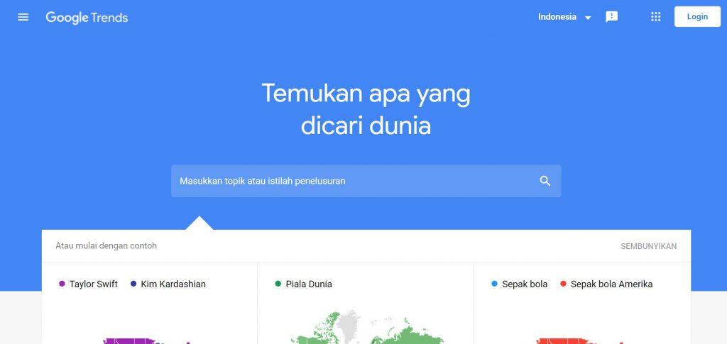 keyword tool gratis google trends