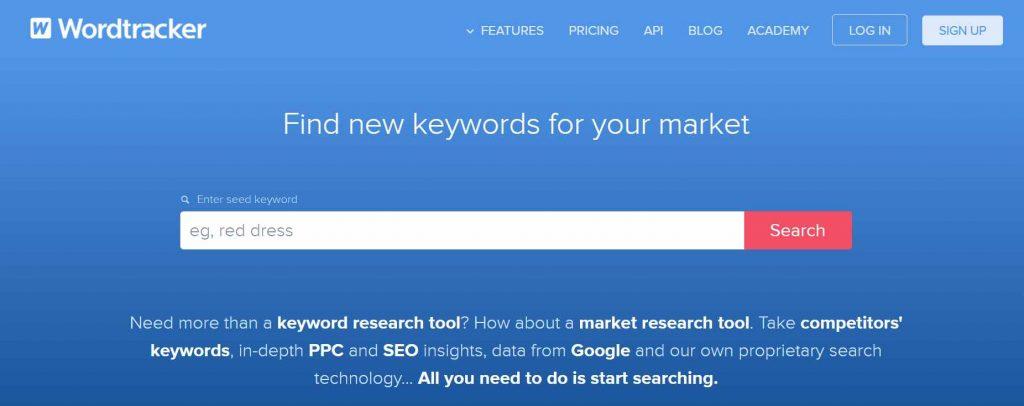 keyword tool wordtracker