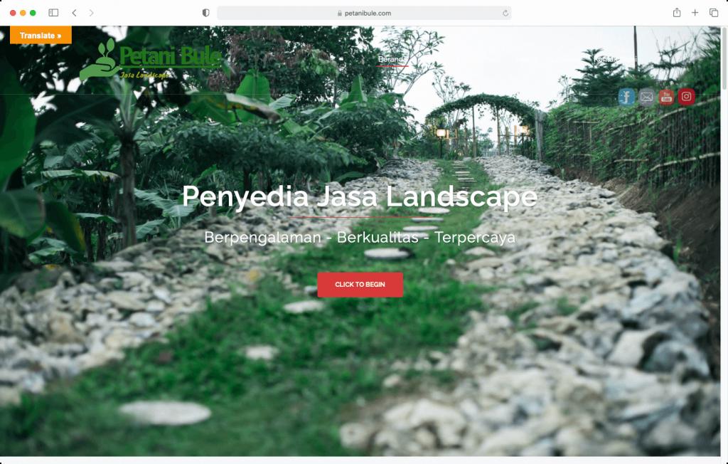 Usaha Jasa Landscape