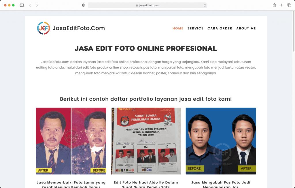 Bisnis Jasa Edit Foto