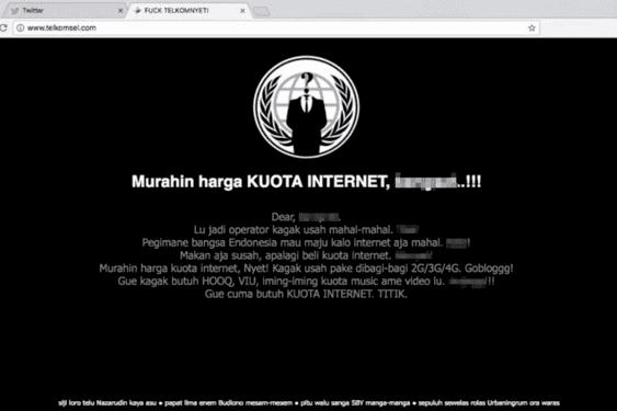 Analisa kasus hack Telkomsel