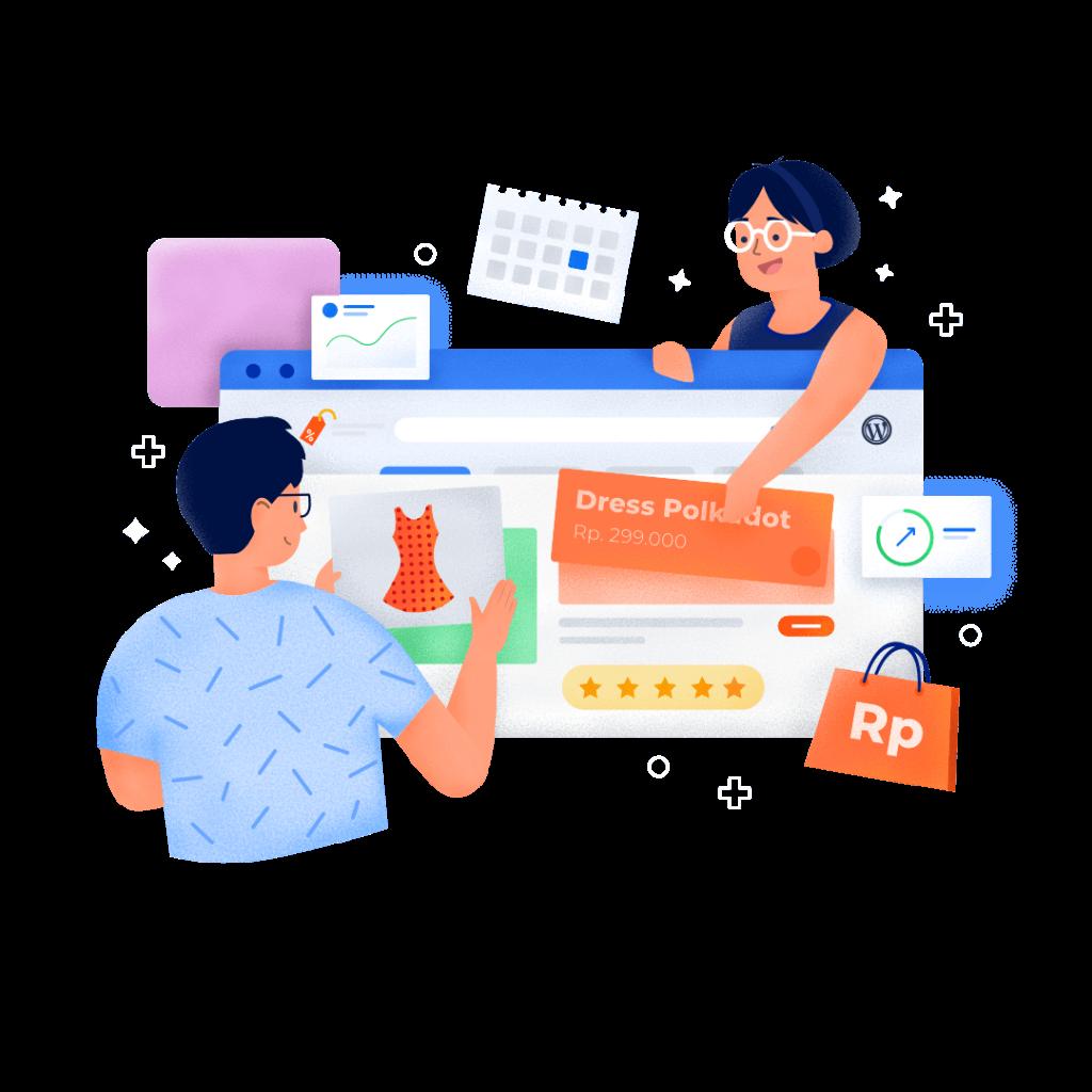 ilustrasi pengertian bisnis online