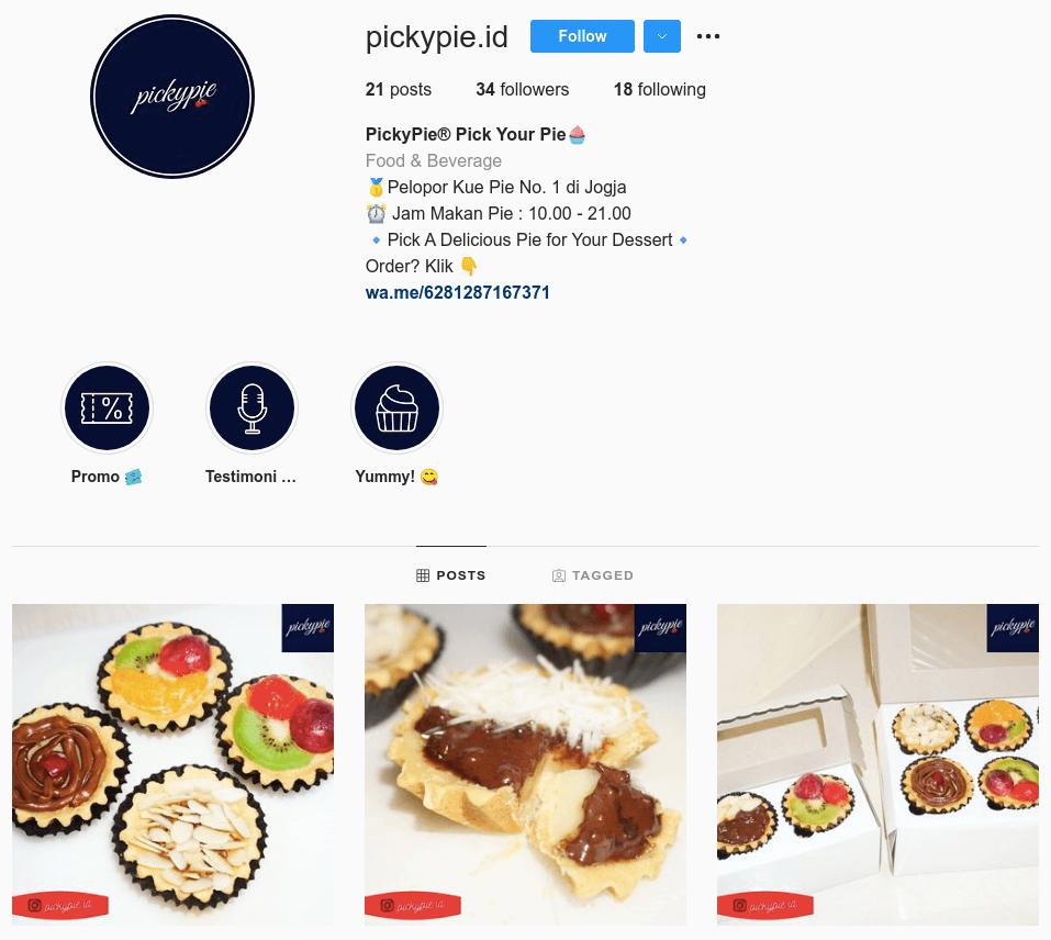 contoh jenis bisnis di media sosial