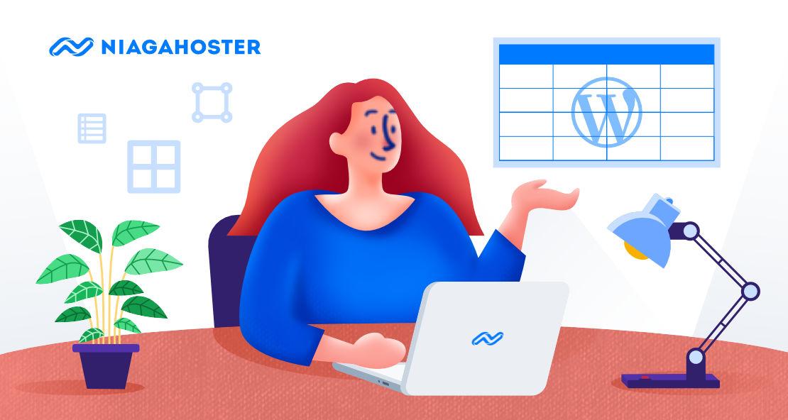 Cara Membuat Tabel di WordPress