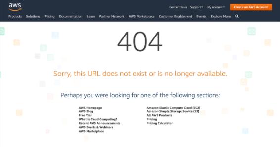 Maintenance Mode AWS Amazon