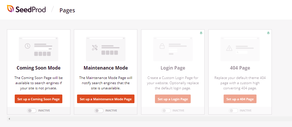SeedProd Pages