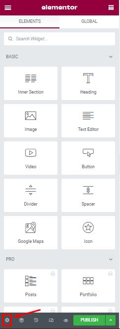 Konfigurasi Maintenance Page di Elementor
