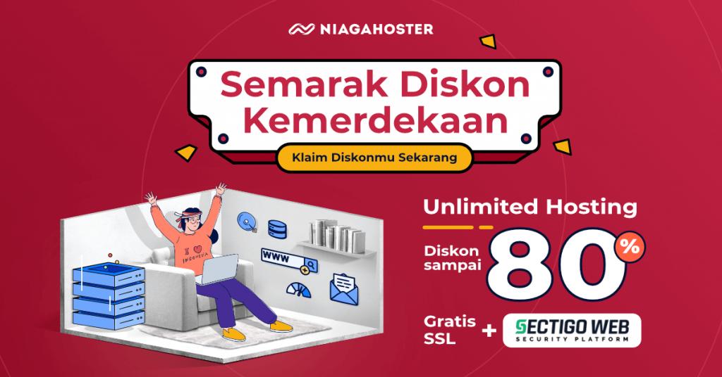 promo kemerdekaan unlimited hosting