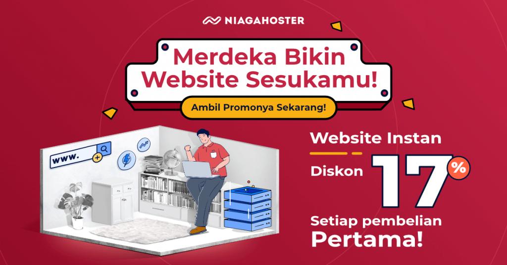 promo kemerdekaan website instan