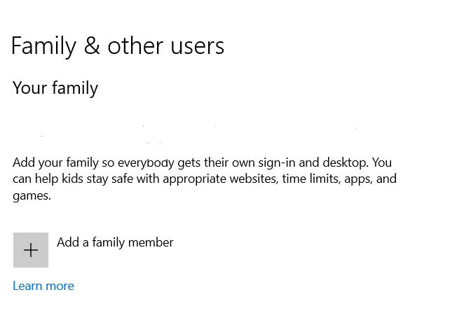 klik add family member