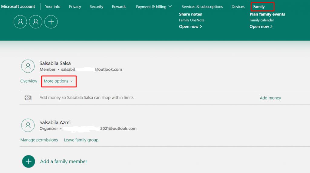 cara memblokir situs dengan parental control windows member