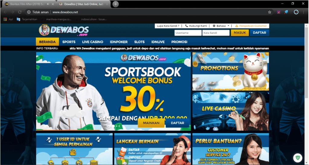 contoh pop up iklan yang mengganggu aktivitas browsing