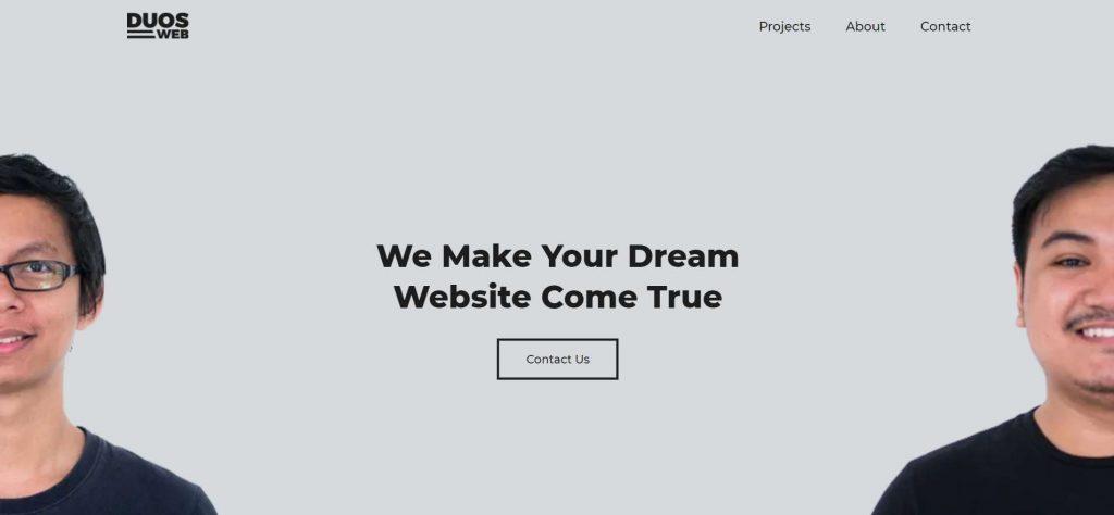 duosweb kolaborasi web designer dan web developer