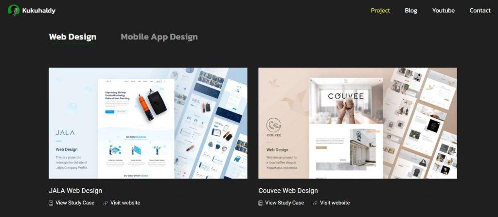 project web designer kukuh aldy