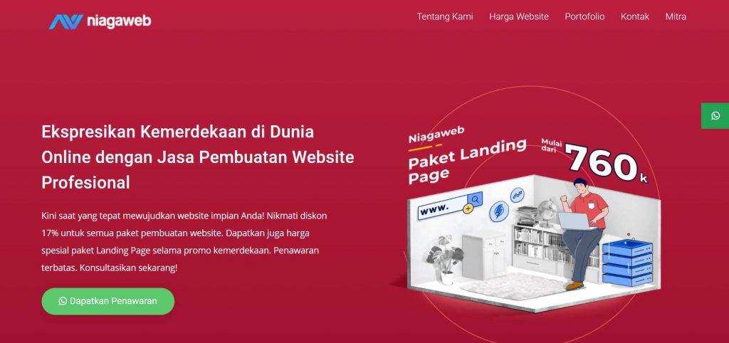 jasa pembuatan website niagaweb
