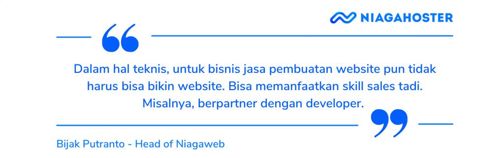 skill dalam bisnis jasa pembuatan website