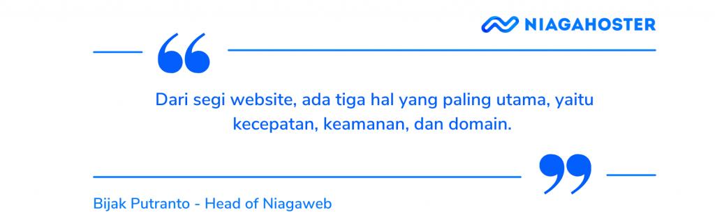 tiga kriteria website yang bagus