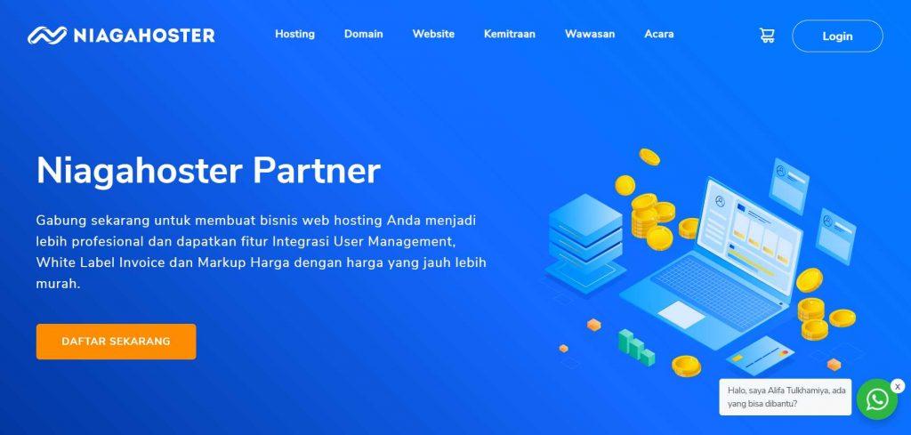 Niagahoster Partner salah satu sarana penunjang bisnis jasa pembuatan website