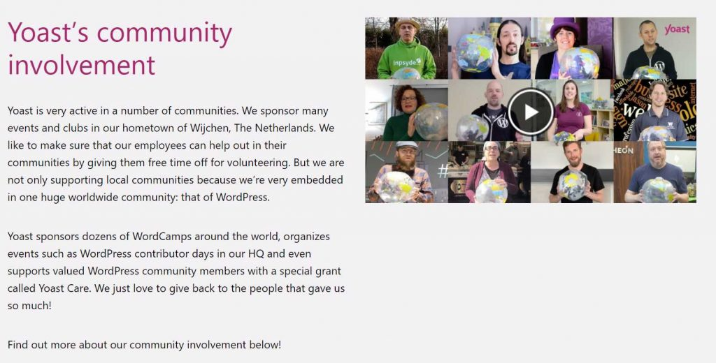 contoh mashup testimonial yang menampilkan banyak testimoni dalam satu video