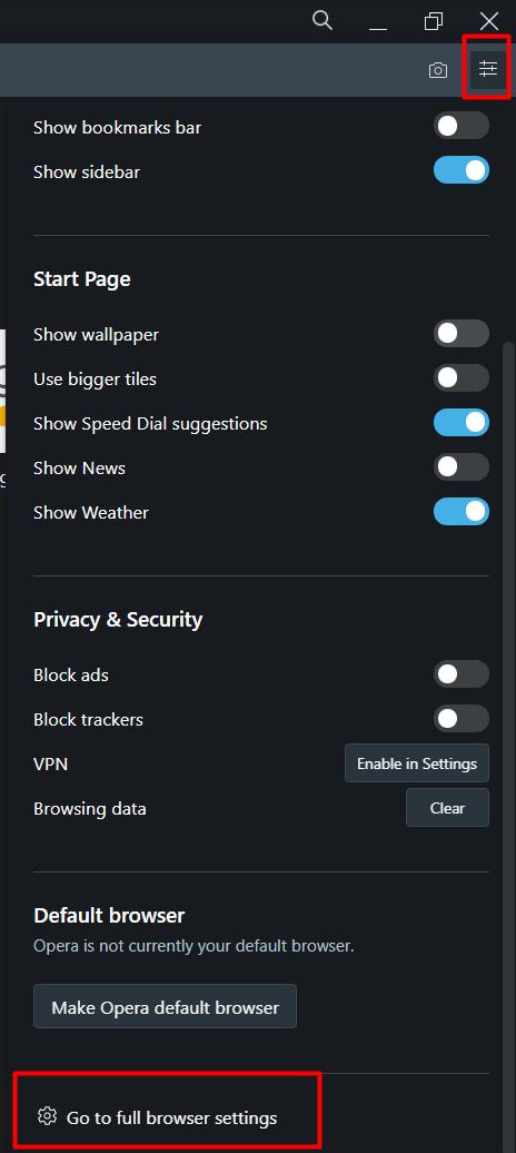 langkah pertama cara setting proxy opera