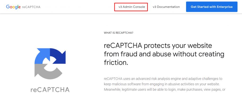 cara membuat captcha google buka halaman recaptcha