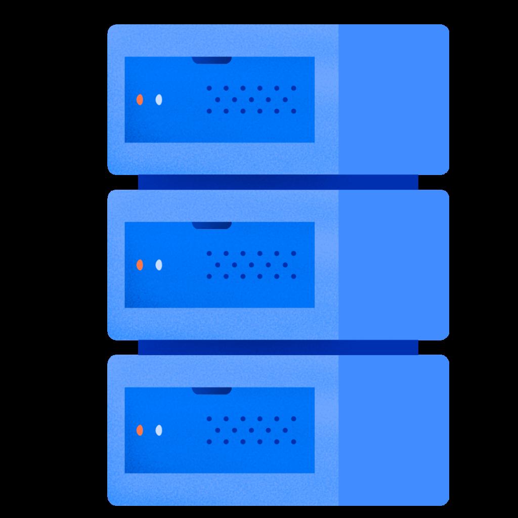 ilustrasi server