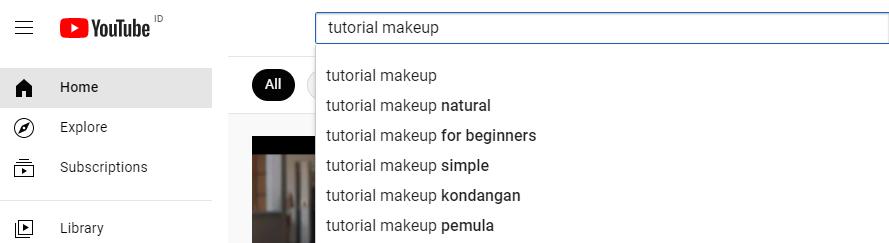 Cara Riset Keyword YouTube dengan YouTube Auto Complete