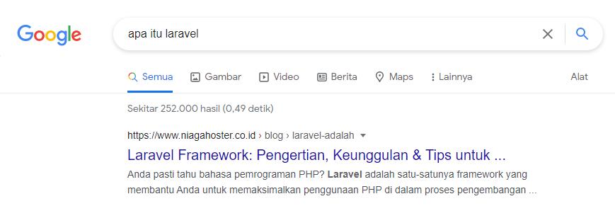 struktur URL sesuai kaidah search engine optimization