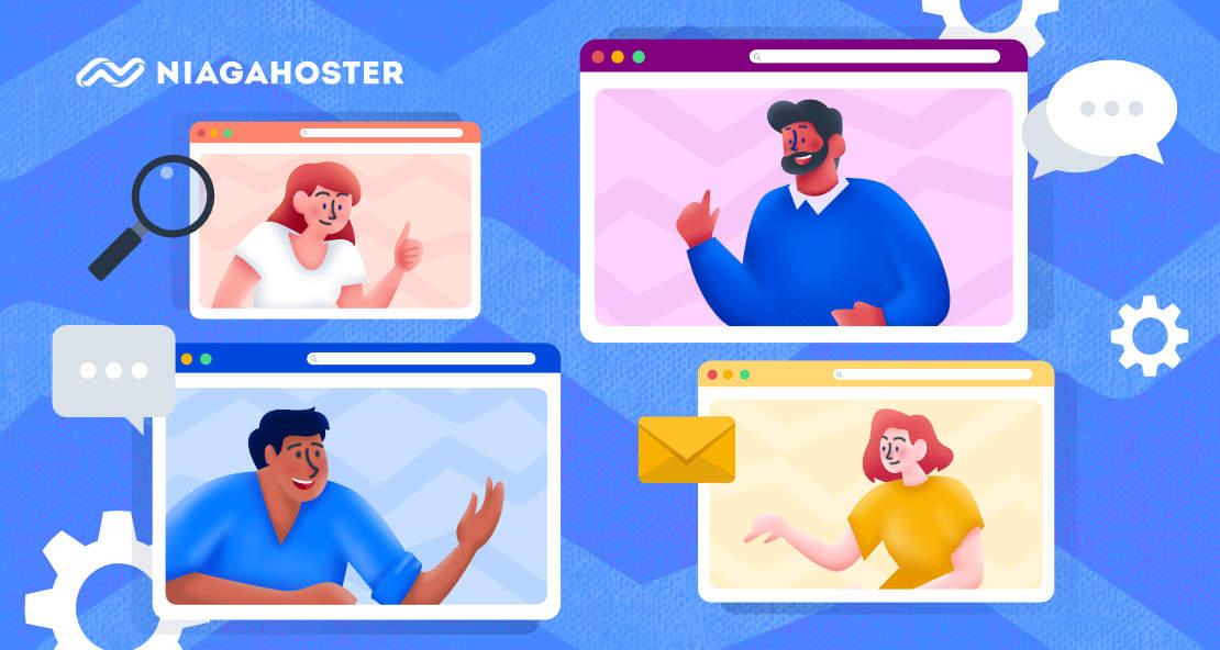 Cara membuat Live Chat