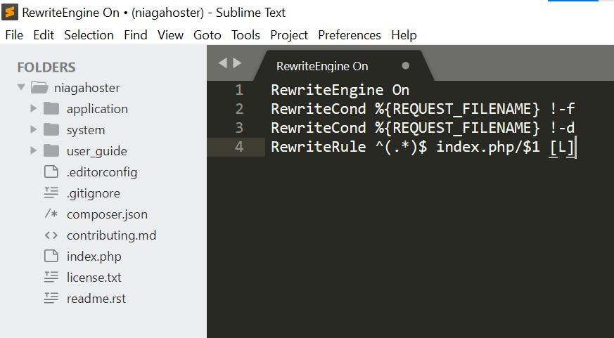 menghilangkan index.php codeigniter langkah 3