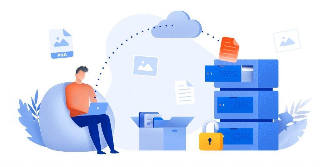 penyimpanan virtual dengan cloud database