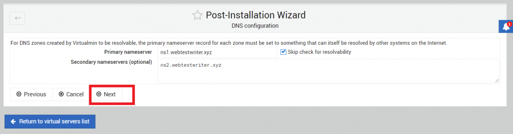 konfigurasi DNS