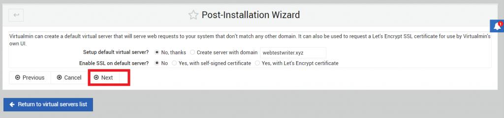 konfigurasi default virtual server