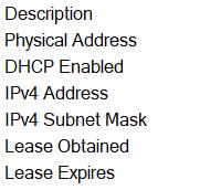 hasil ip address di control panel