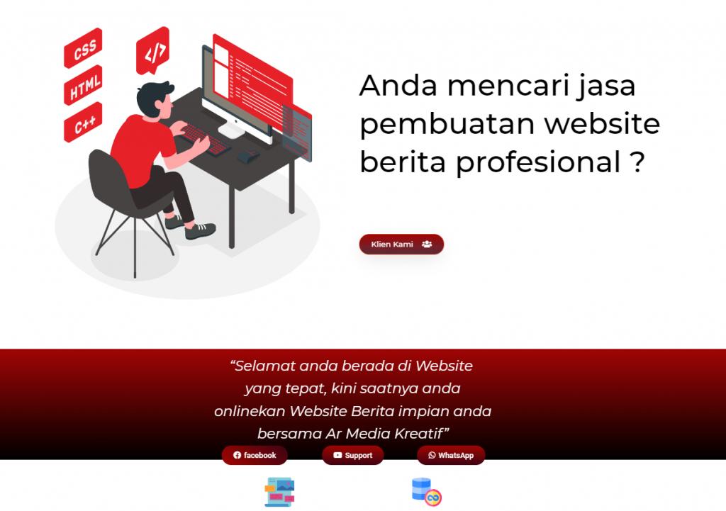 Website Ar Media Kreatif