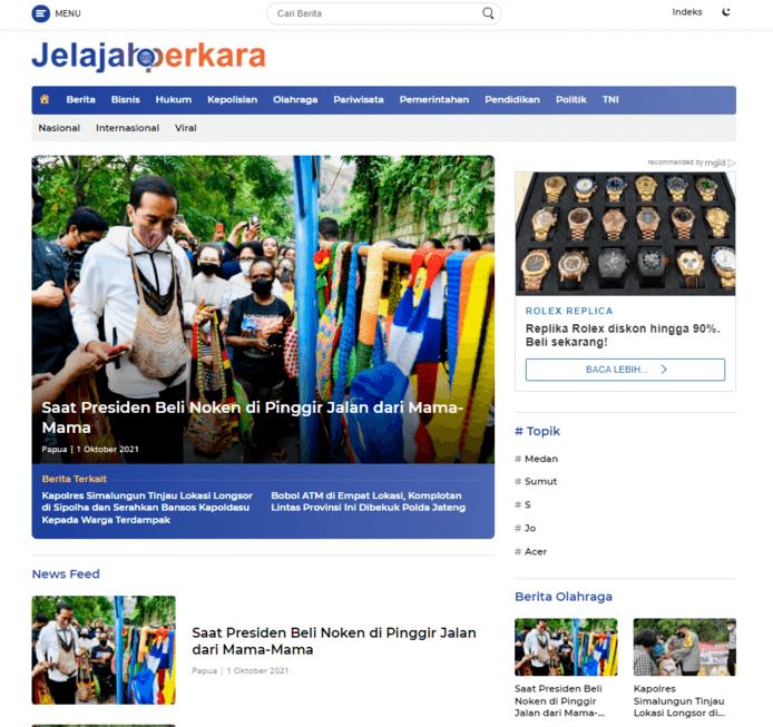 Portfolio website Ar Media Kreatif