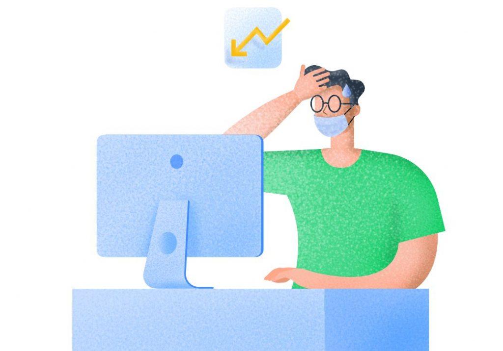 churn rate adalah persentase konsumen  yang berhenti membeli produk bisnis
