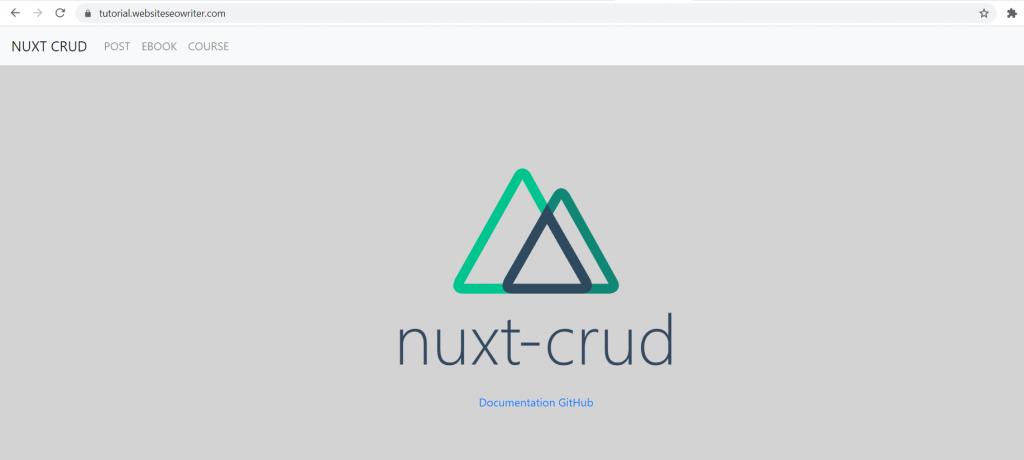 berhasil upload nuxt.js di hosting